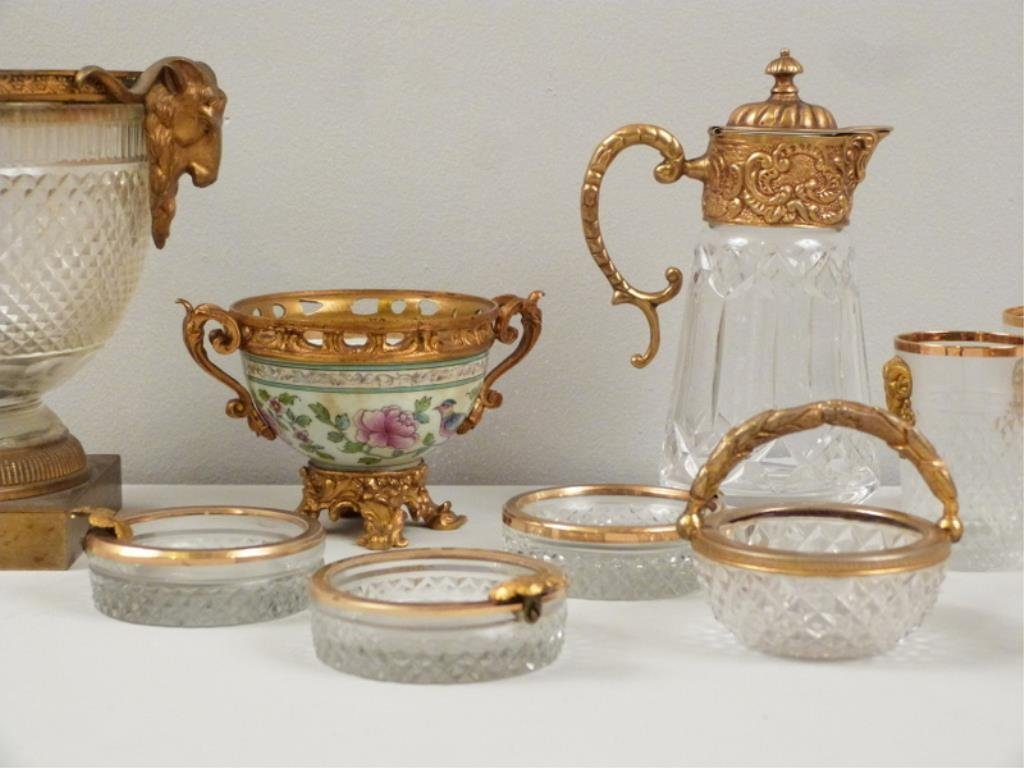 Assorted Gilt Metal Mounted Articles - 3