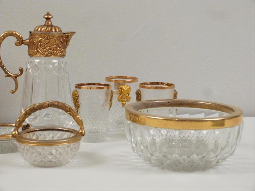 Assorted Gilt Metal Mounted Articles - 4