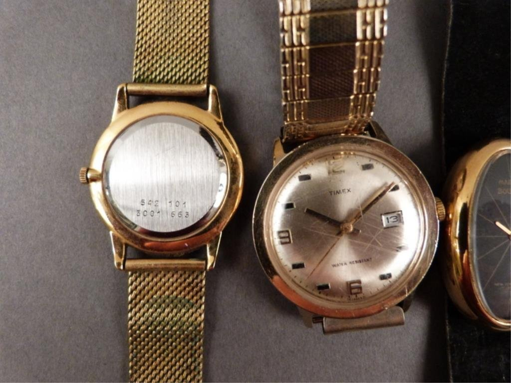 5 Men's Wrist Watches (as is) - 3