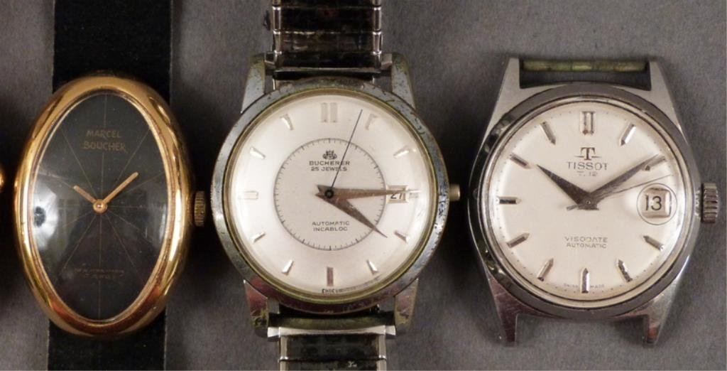 5 Men's Wrist Watches (as is) - 4