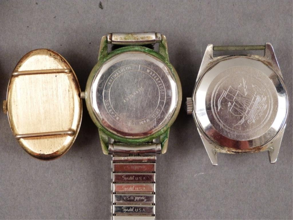 5 Men's Wrist Watches (as is) - 5