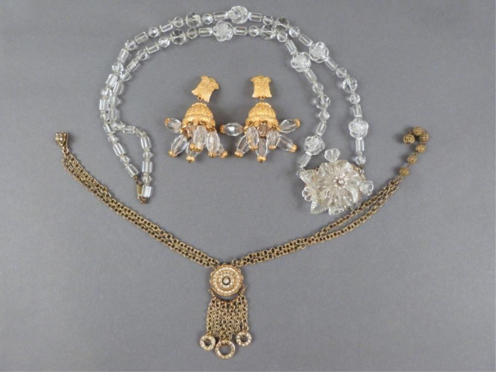 Miriam Haskell & Kenneth J. Lane Costume Jewelry
