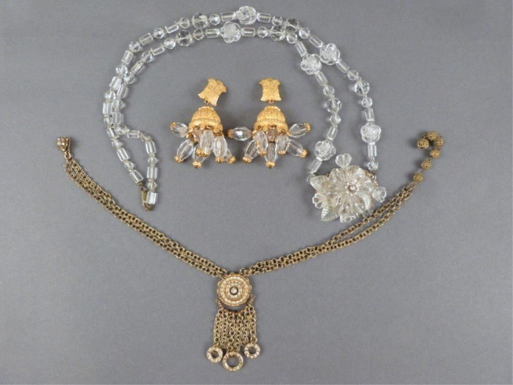 Miriam Haskell & Kenneth J. Lane Costume Jewelry
