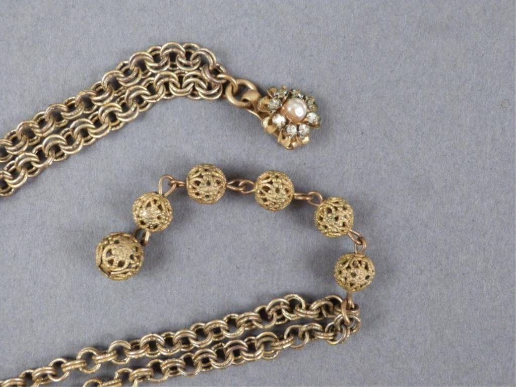 Miriam Haskell & Kenneth J. Lane Costume Jewelry - 4