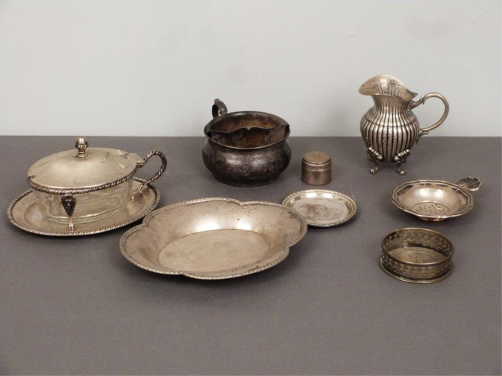 Assorted Continental Silver Articles