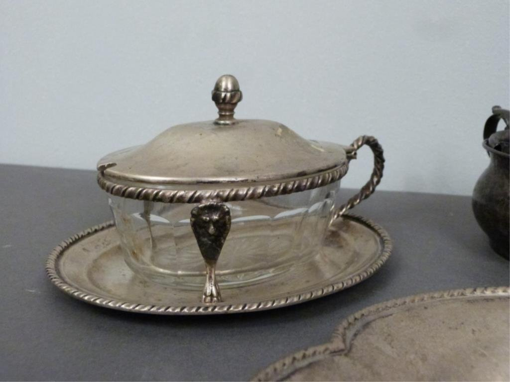 Assorted Continental Silver Articles - 3