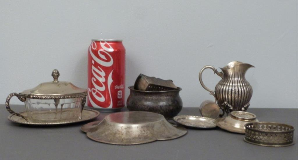 Assorted Continental Silver Articles - 6