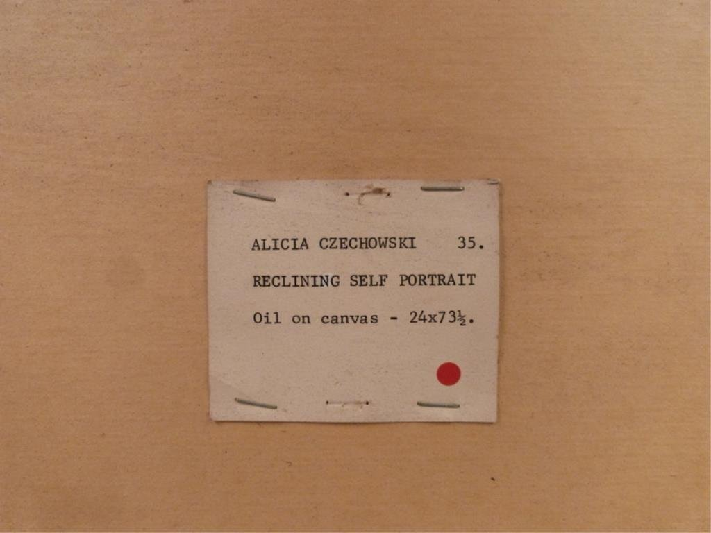 Alicia Czechowski (American 20th Century) - Oil - 8
