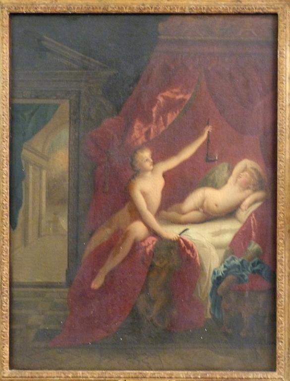 After Fragonard - Oil on Canvas