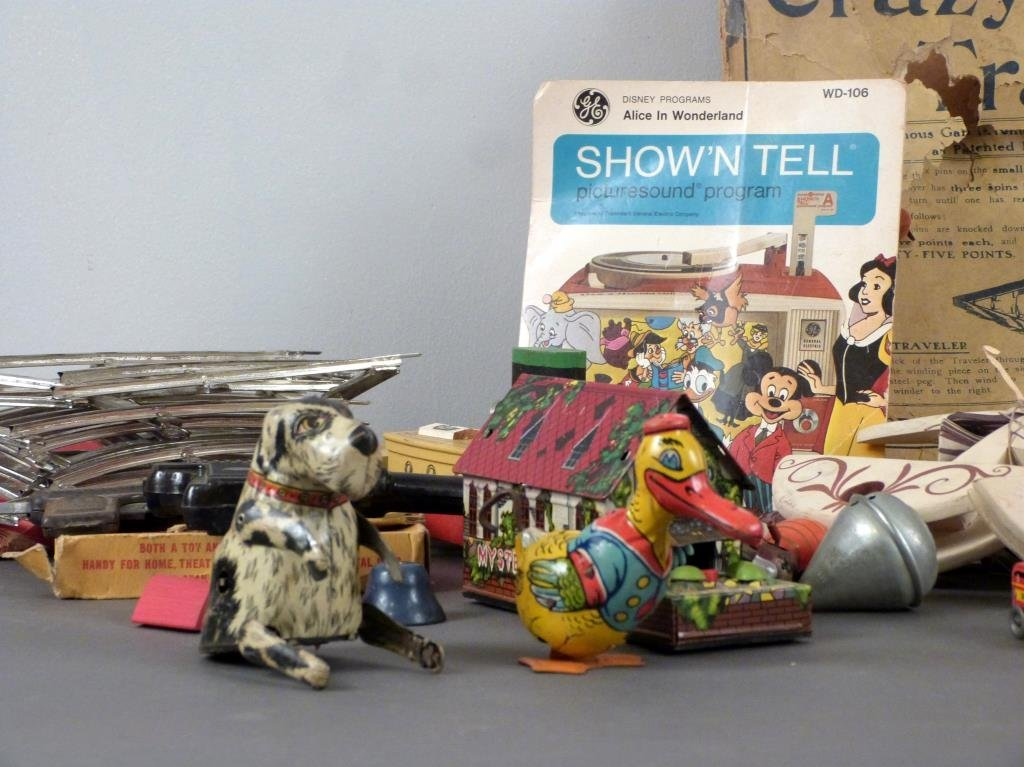 Large Lot of Vintage Toys - 2