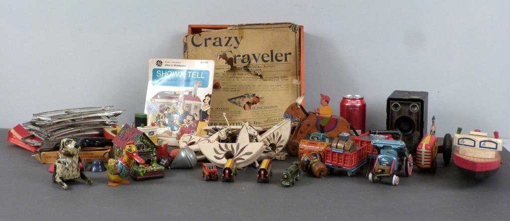 Large Lot of Vintage Toys - 3