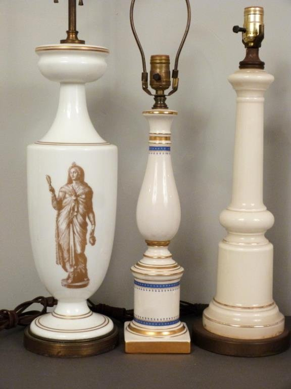 5 Assorted Columnar Lamps - 2