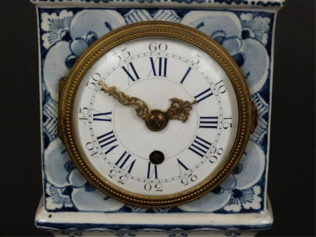 Delft Table Top Size Tall Case Clock - 2
