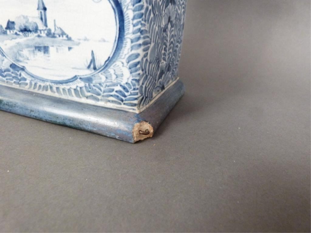 Delft Table Top Size Tall Case Clock - 3