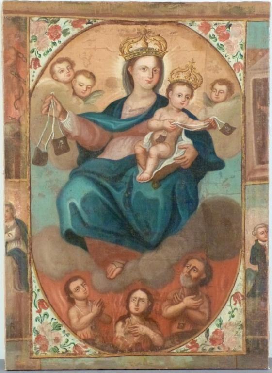 Religious (Icon) Oil on Canvas