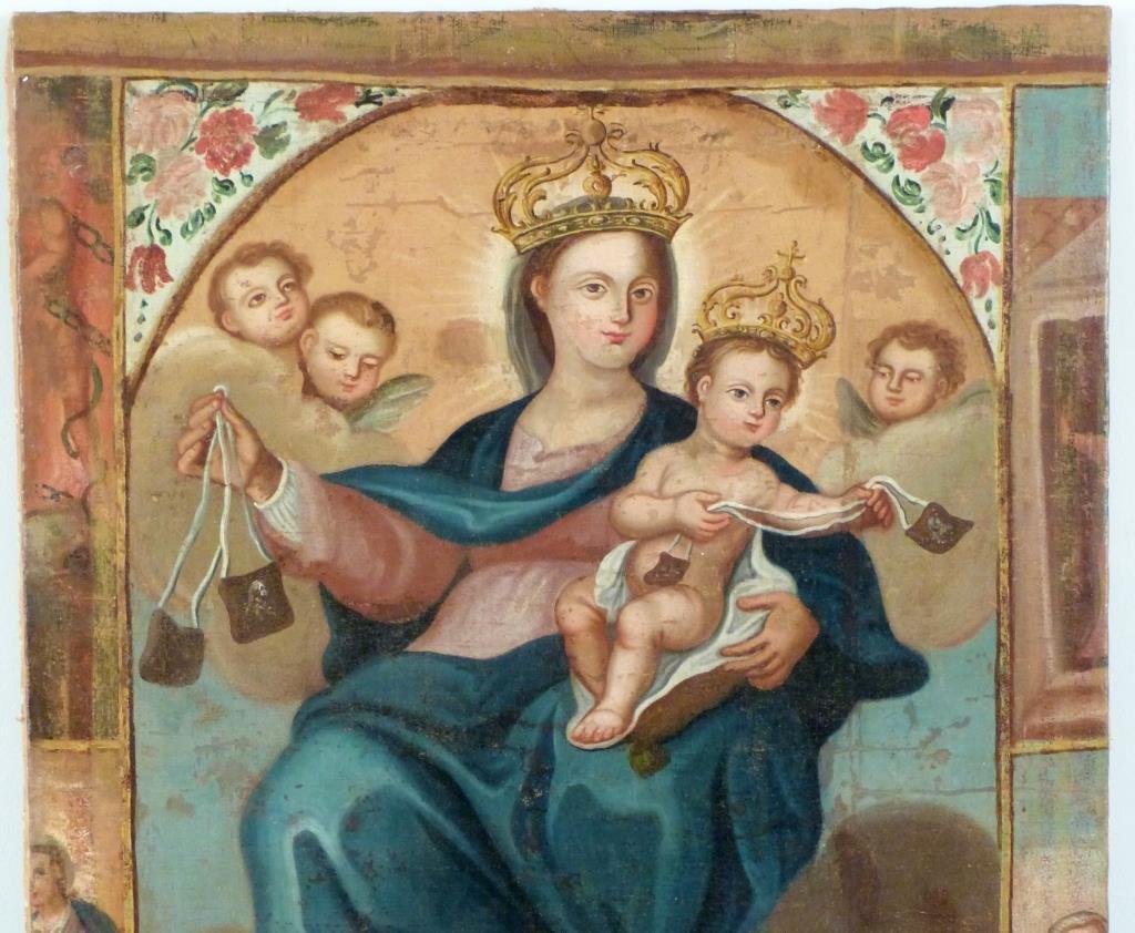 Religious (Icon) Oil on Canvas - 2