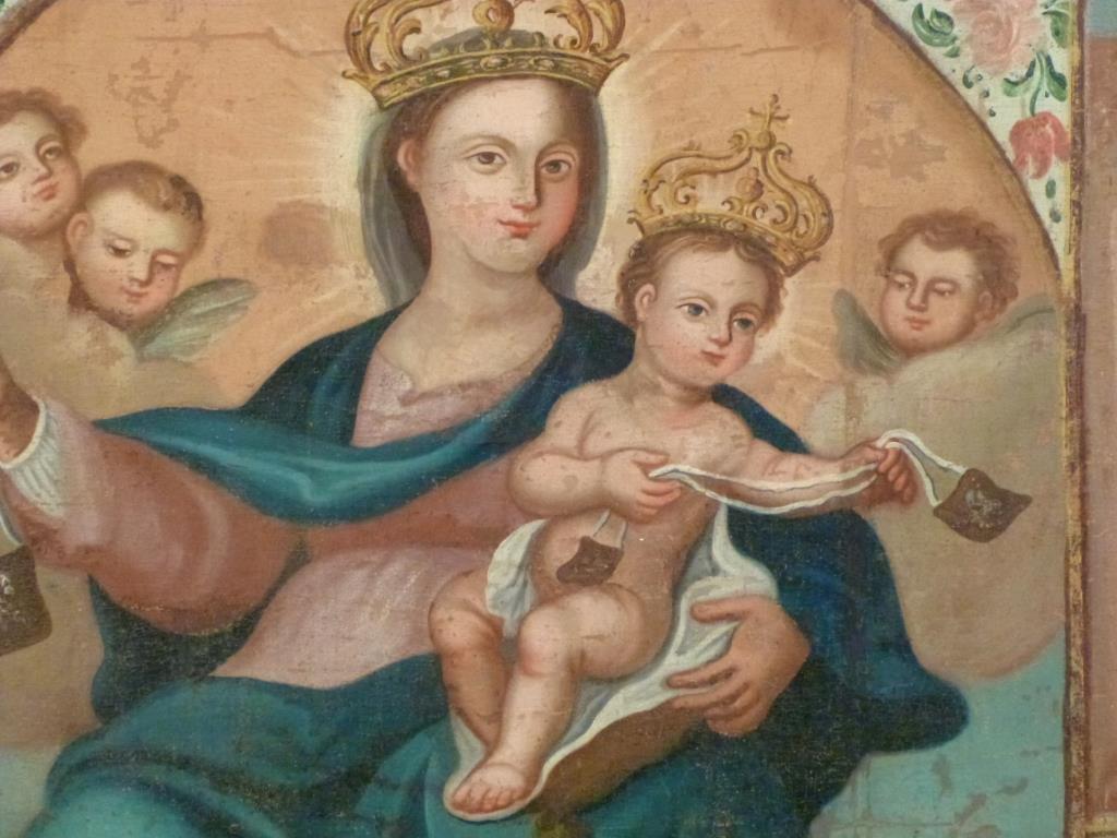 Religious (Icon) Oil on Canvas - 3