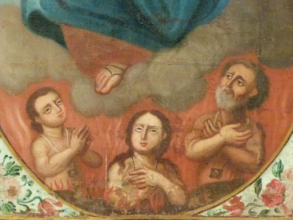 Religious (Icon) Oil on Canvas - 4