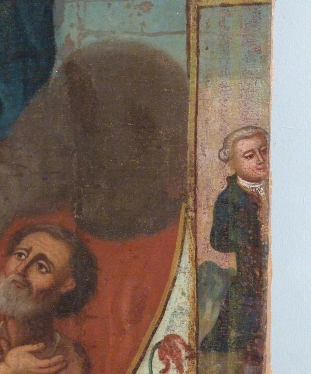 Religious (Icon) Oil on Canvas - 5