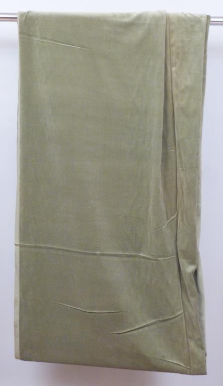 "Large Cut of Velvet Fabric - 4' 7"" X 15' 6"""
