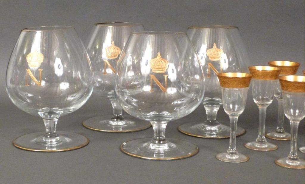 Assorted Gilt Glass Lot - 2