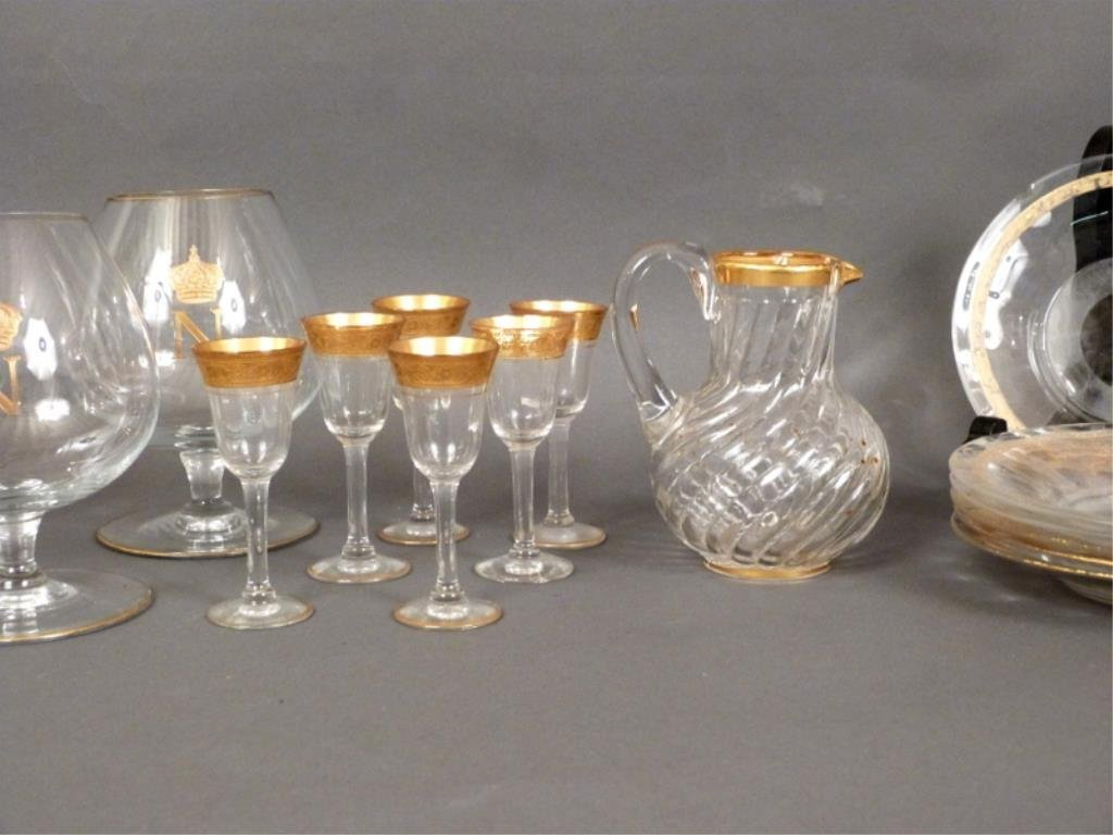 Assorted Gilt Glass Lot - 3