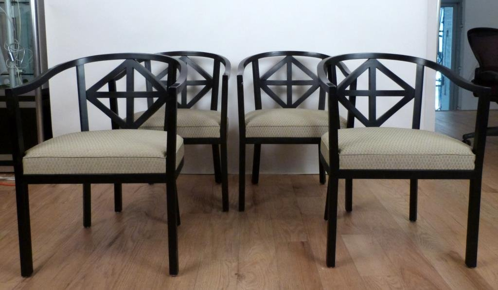 Set of 4 Wittmann Chairs, Josef Hoffmann Style