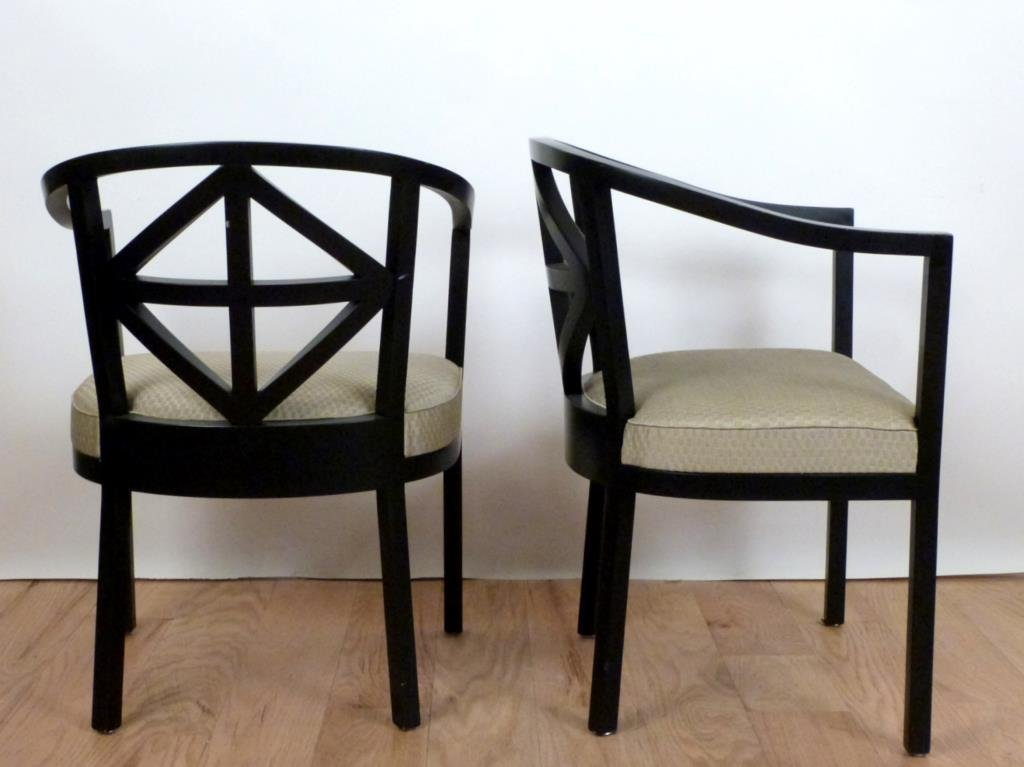 Set of 4 Wittmann Chairs, Josef Hoffmann Style - 3