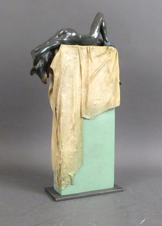 "Josep Boffil - Mixed Media Sculpture ""Temptation"""