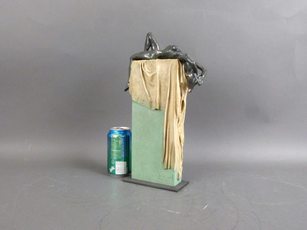 "Josep Boffil - Mixed Media Sculpture ""Temptation"" - 2"