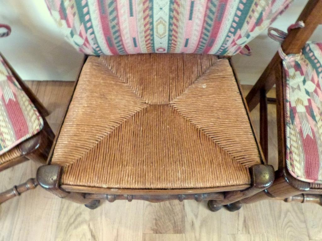 Set of 4 French Provincial Style Side Chairs - 3