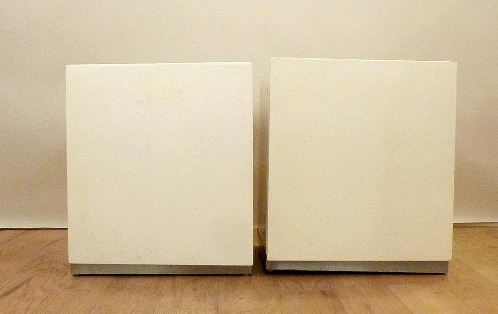Pair Thayer Coggin by Milo Baughman End Tables - 2