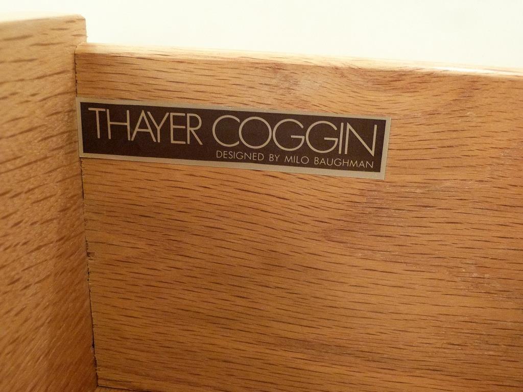 Pair Thayer Coggin by Milo Baughman End Tables - 6
