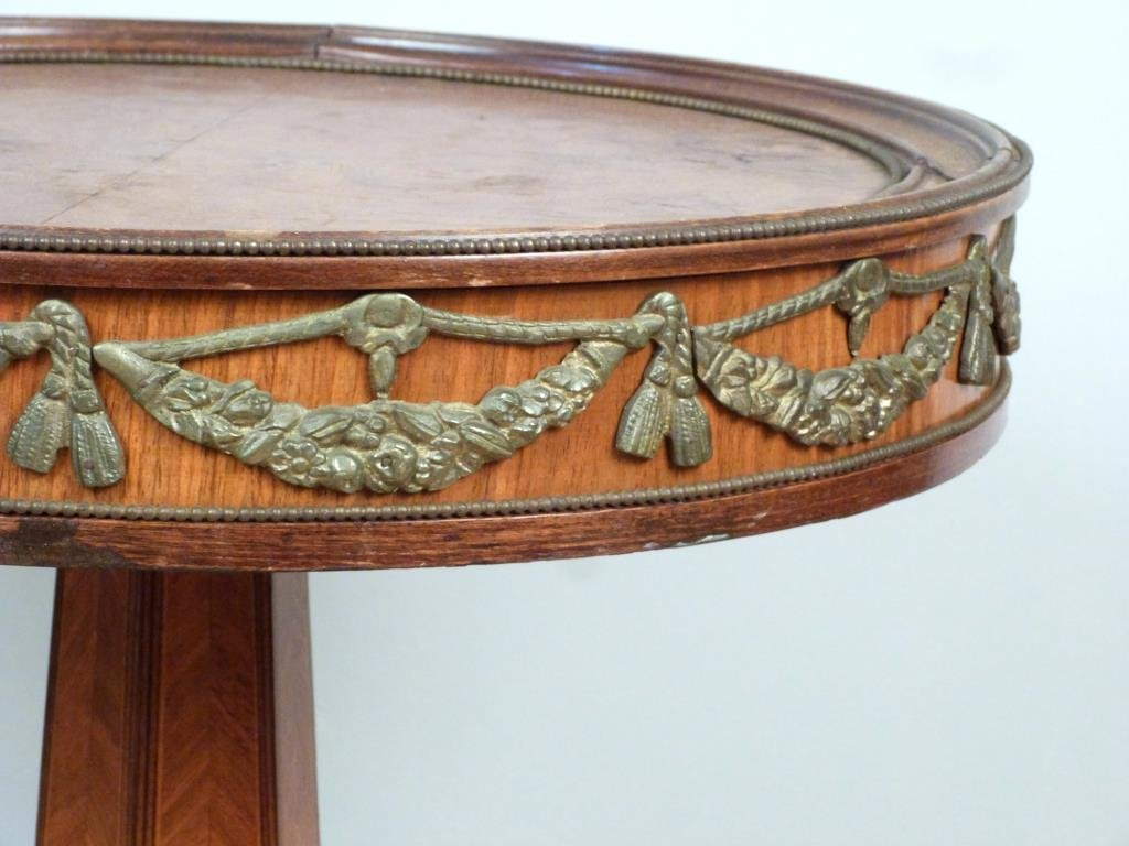 French Style Bronze Mounted Stand - 3