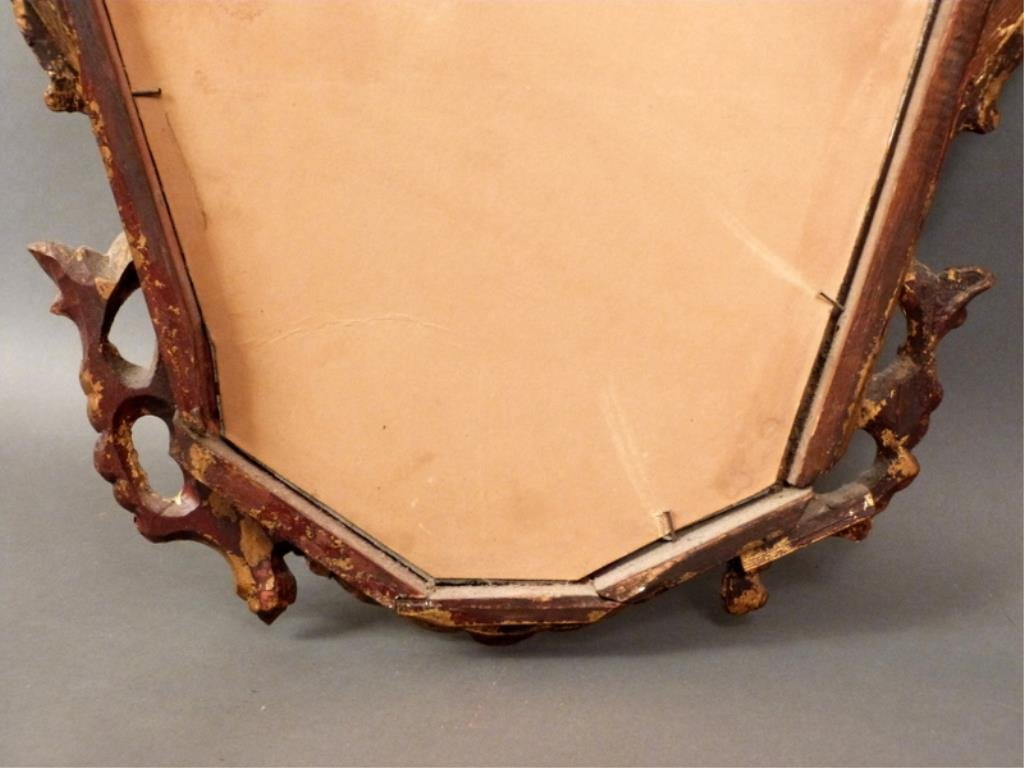 Antique English Carved Mirror - 7