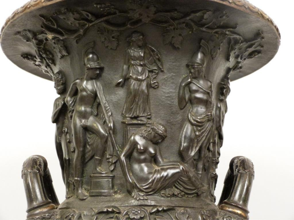 Late Empire Bronze and Marble Urn - 4