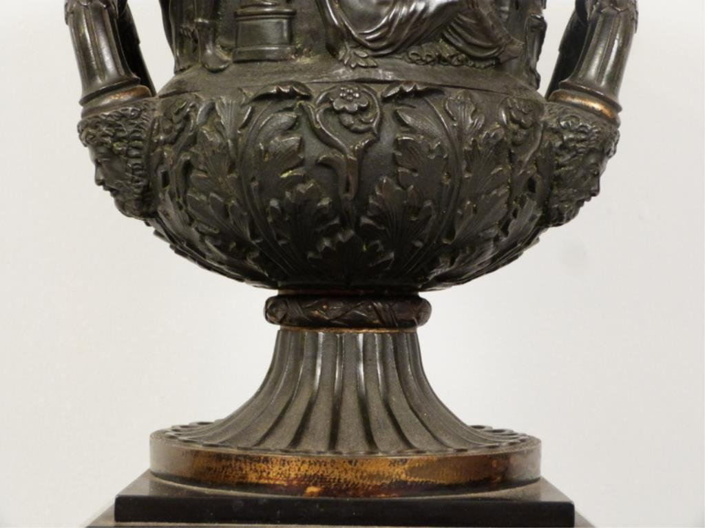 Late Empire Bronze and Marble Urn - 5
