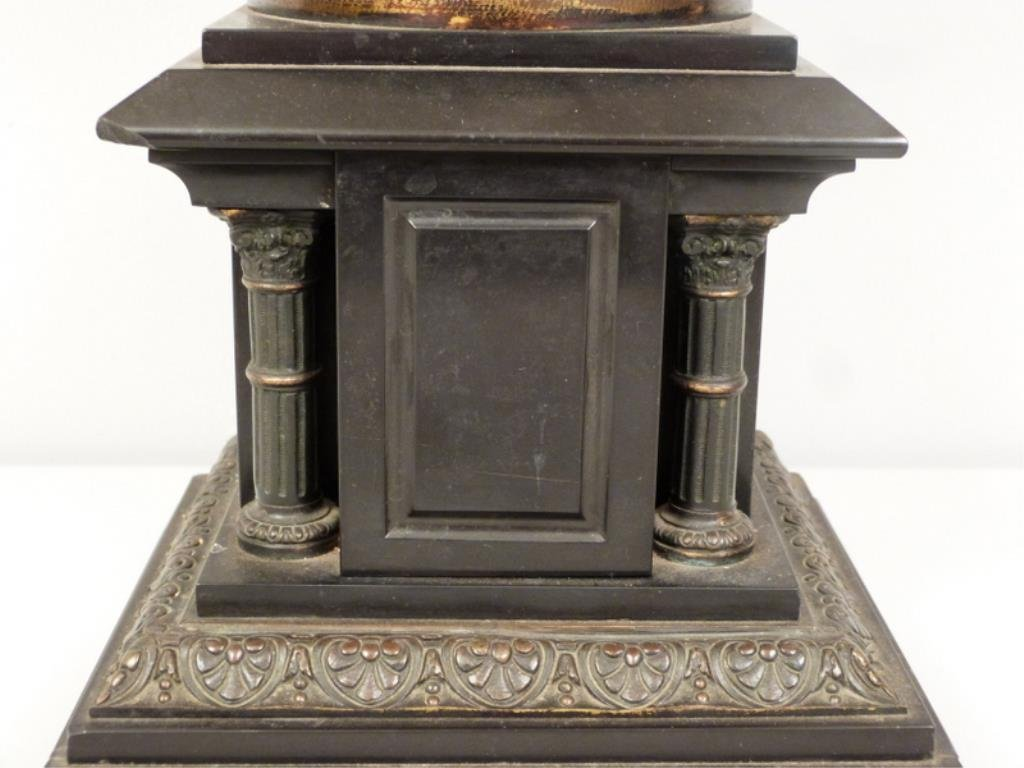Late Empire Bronze and Marble Urn - 6