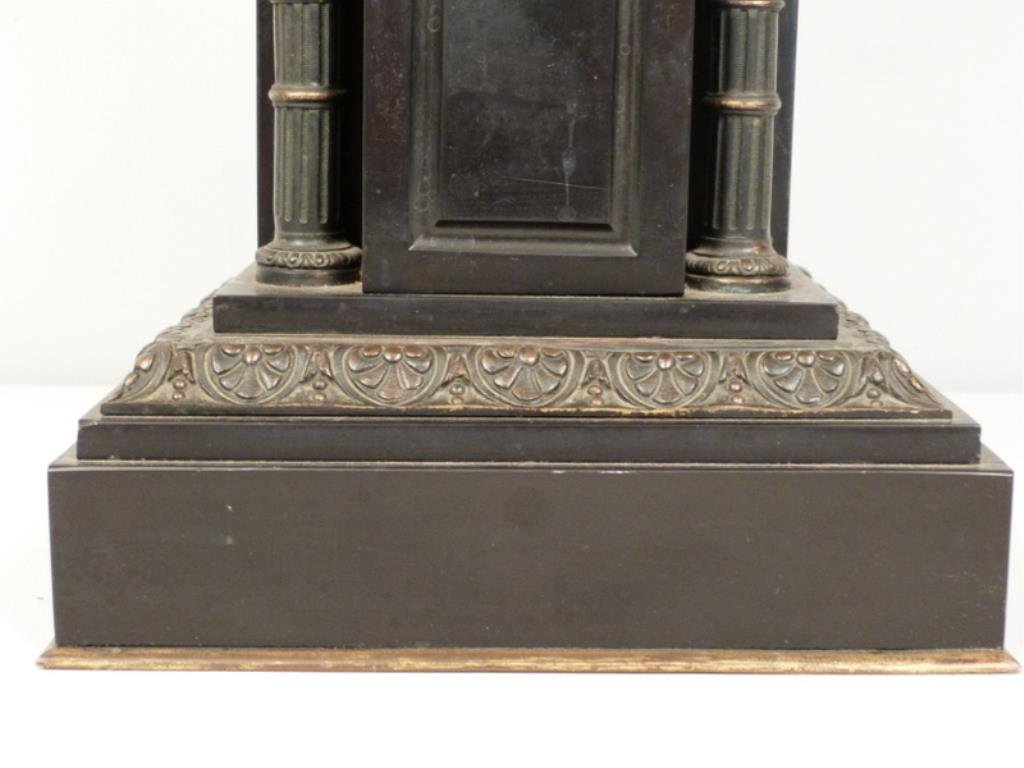 Late Empire Bronze and Marble Urn - 7