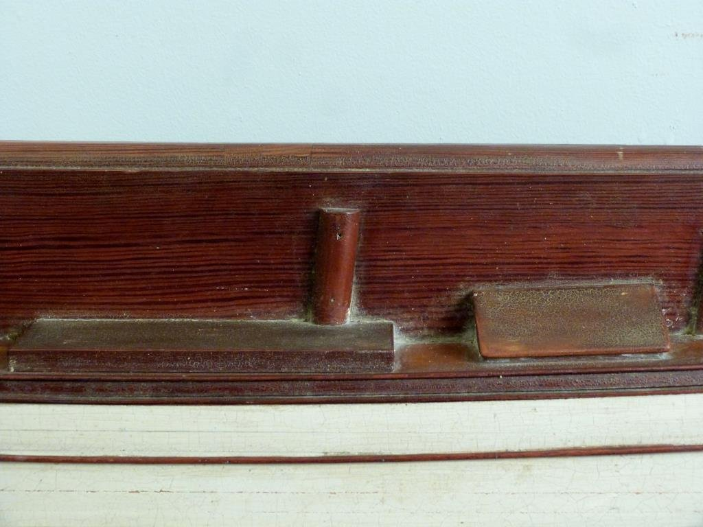 Vintage Boat Hull Wall Mount - 3