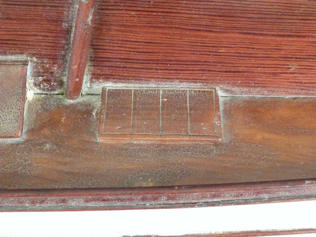 Vintage Boat Hull Wall Mount - 4