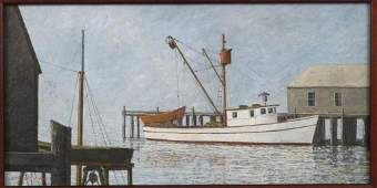 Fernando Batista - Oil on Canvas