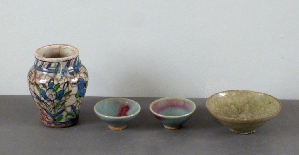 4  Glazed Ceramic Articles