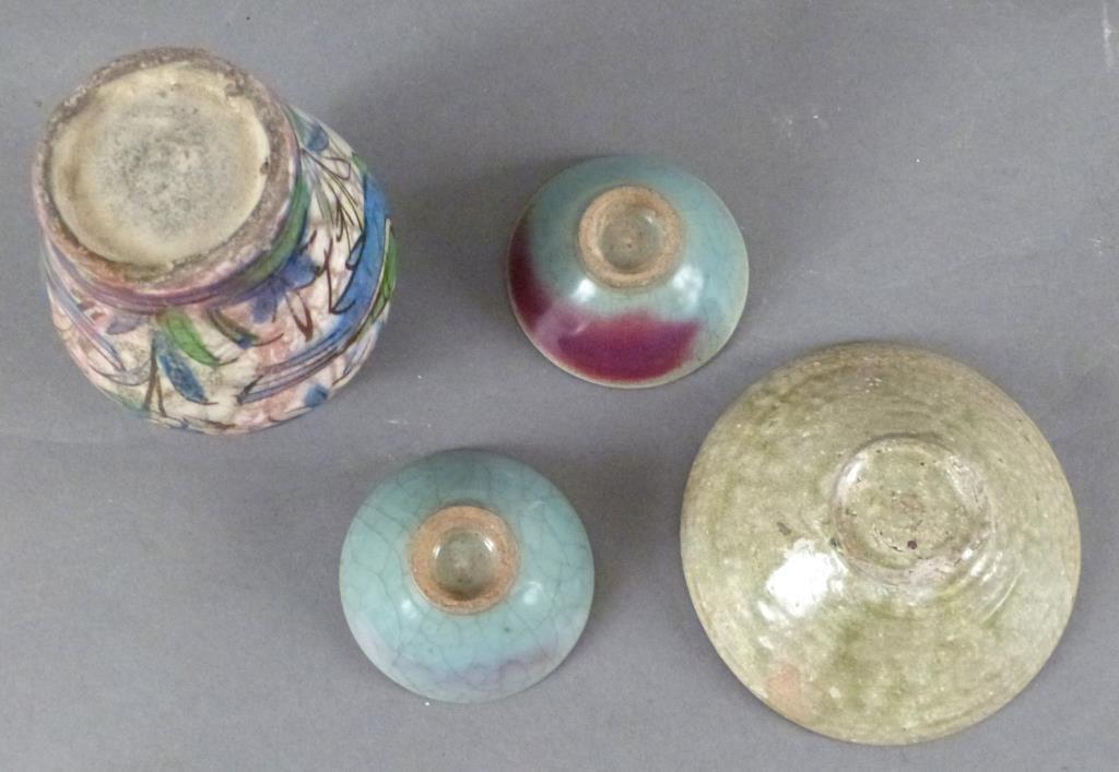 4  Glazed Ceramic Articles - 4