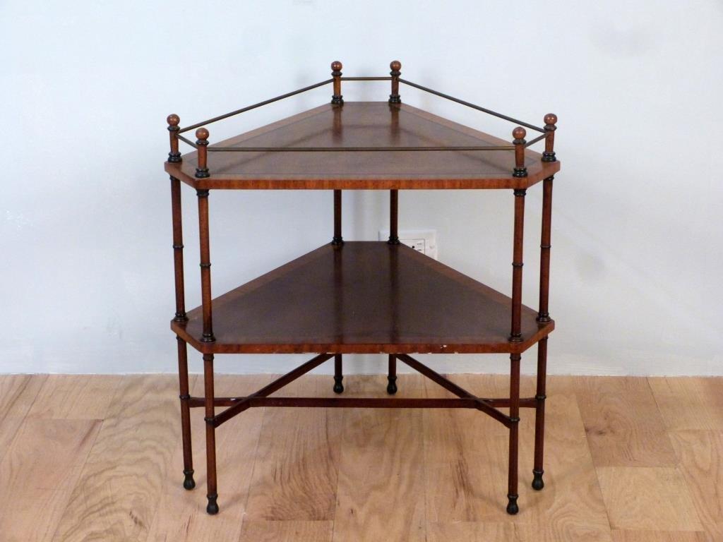 Regency Style Triangular Stand