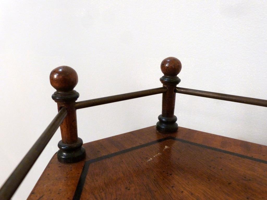 Regency Style Triangular Stand - 3