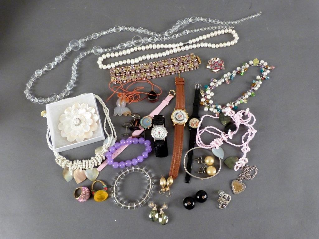 Assorted Costume Jewelry