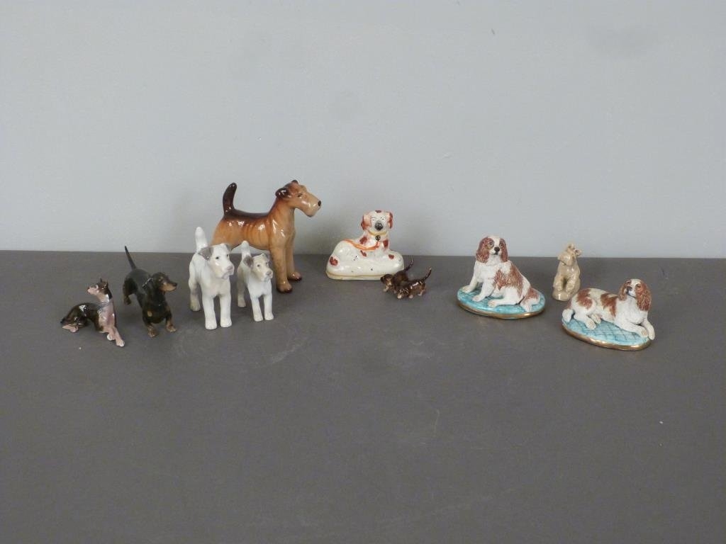 Assorted Porcelain Dogs - 2