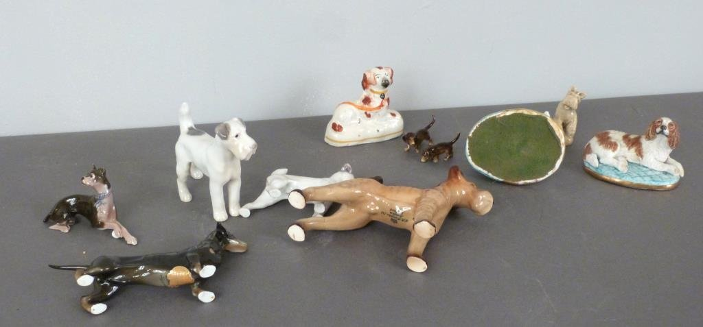 Assorted Porcelain Dogs - 3