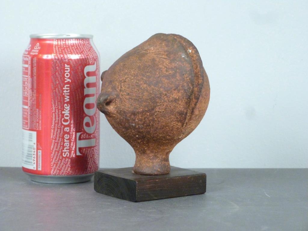 Peruvian Style Terra Cotta Head - 3